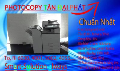 Bán Máy Photocopy Ricoh MP C6501 nhập khẩu giá rẻ