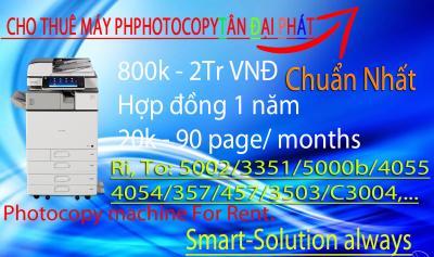 Cho Thuê Máy photocopy Ricoh c3004