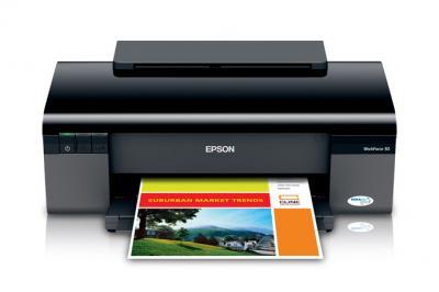 Epson WorkForce 30 sử dụng 5 màu