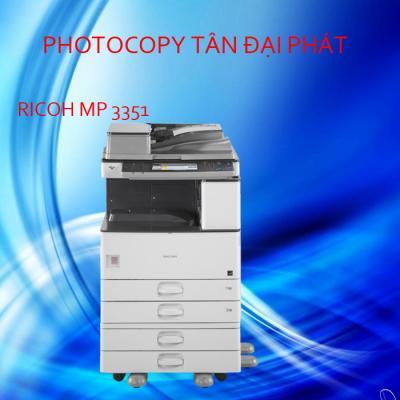 Photocopy Ricoh Aficio MP 3351 second hand Nhập khẩu