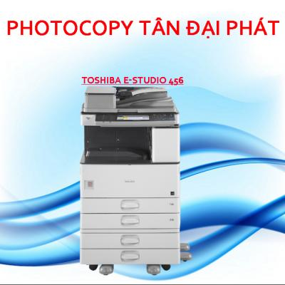 Máy photocopy Toshiba e-Studio 456 nhập khẩu