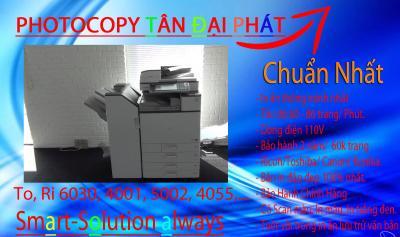 Photocopy Ricoh Aficio MP 6001 nhập khẩu