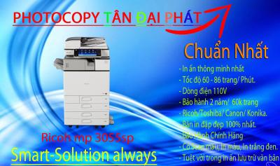 Ricoh Mp 3055sp máy photocopy nhập khẩu